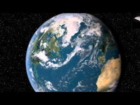 La Terre en 3D modélisée avec cinéma 4d [HD]