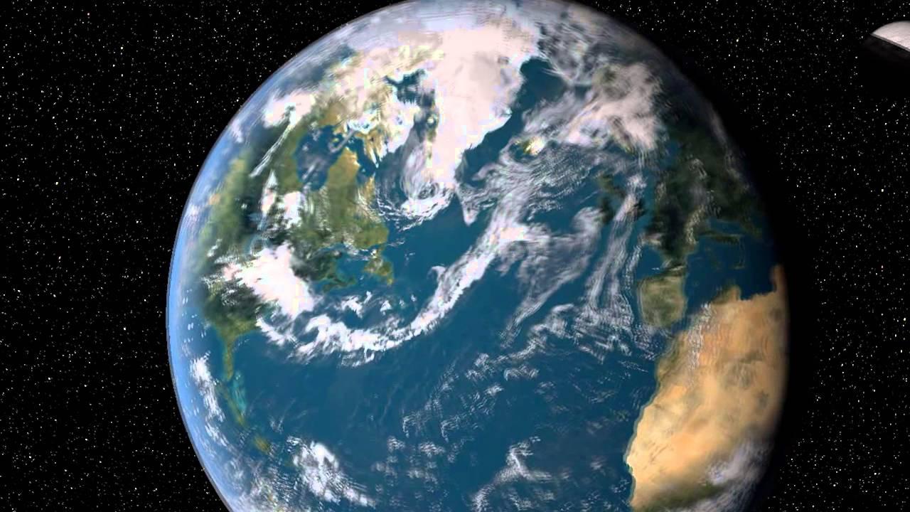 La Terre En 3d Modelisee Avec Cinema 4d Hd