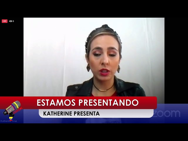 Katherine Presenta desde Danbury CT.  24 febrero 2021