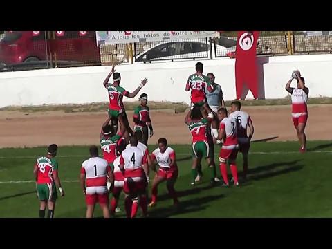 Rugby Afrique Finale Trophée Jean-Luc Barthés U20– Groupe B Monastir 2017 TUNISIE vs MAROC (17/12)