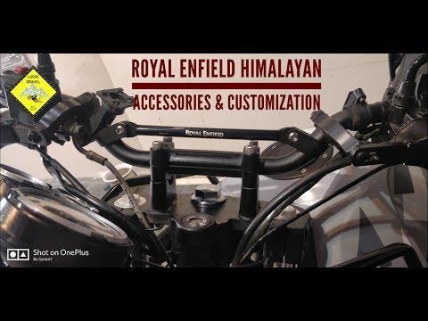 Royal Enfield Accessories | Himalayan Customization | Himalayan BS4