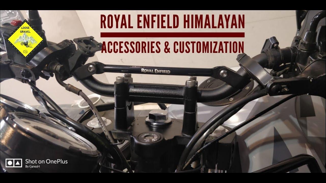 Royal Enfield Accessories Himalayan Customization Himalayan Bs4