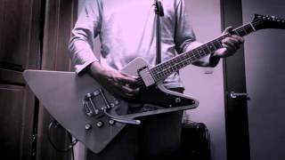 A tribute to Prince.  Purple Rain solo imp. with Epiphone Explorer Pro w/ Bigsby B50