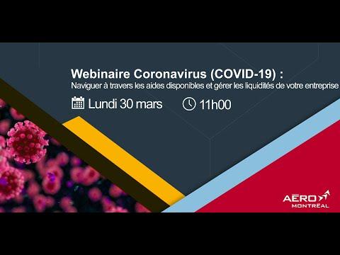 Webinaire COVID-19 : Naviguer à travers les aides disponibles