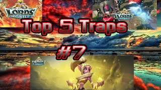 Top 5 Traps #7. Lords mobile community video.