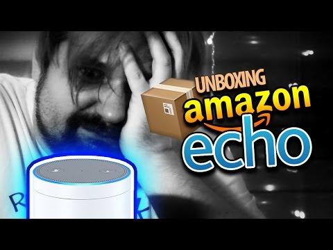 DIE BELEIDIGT MEIN VADDA! 🎁 Unboxing AMAZON ECHO
