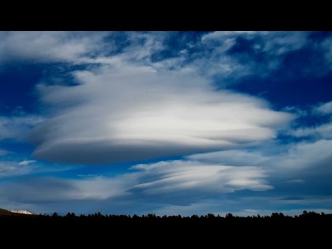 Timelapse Footage Of Lenticular Clouds
