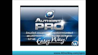 Authority Pro | The New Authority Pro WP Marketing Powersuite