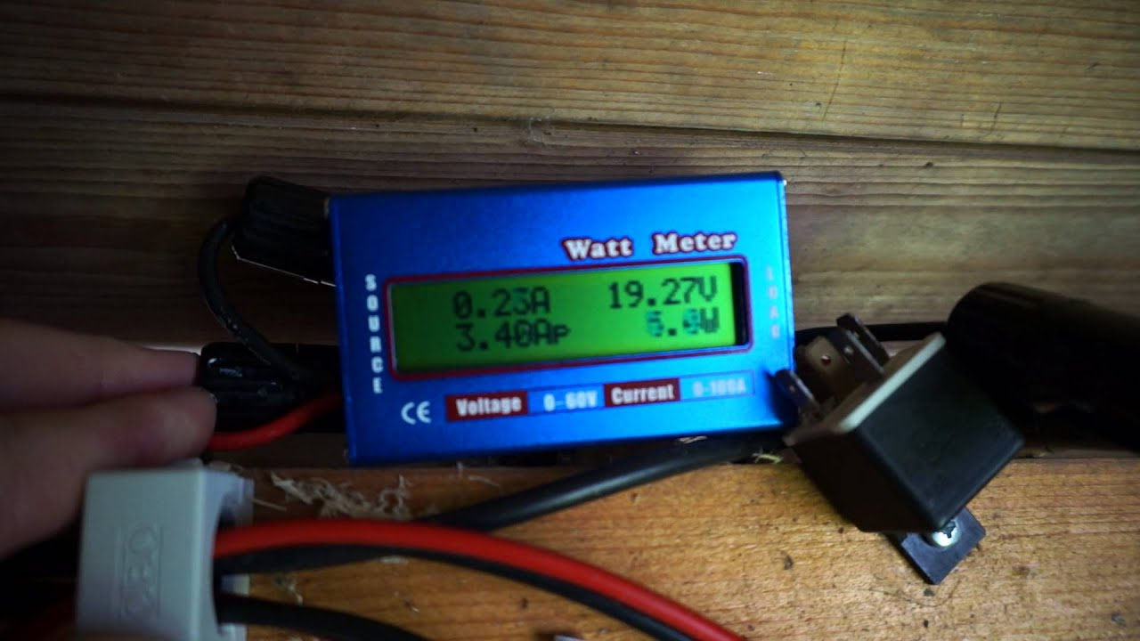 Ebay Rc Volt Amp Watt Meter Youtube Lcd 60v 100a Dc Balance Voltage Battery Power Analyzer