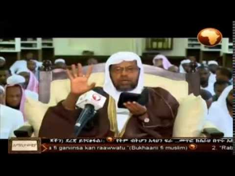 Shiekh Sied Ahmed Mustafa prominent Ethiopian Muslims schola