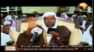 [Tefsir] Shiekh Sied Ahmed Mustafa prominent Ethiopian Muslims scholar the translation Sura Jumaa