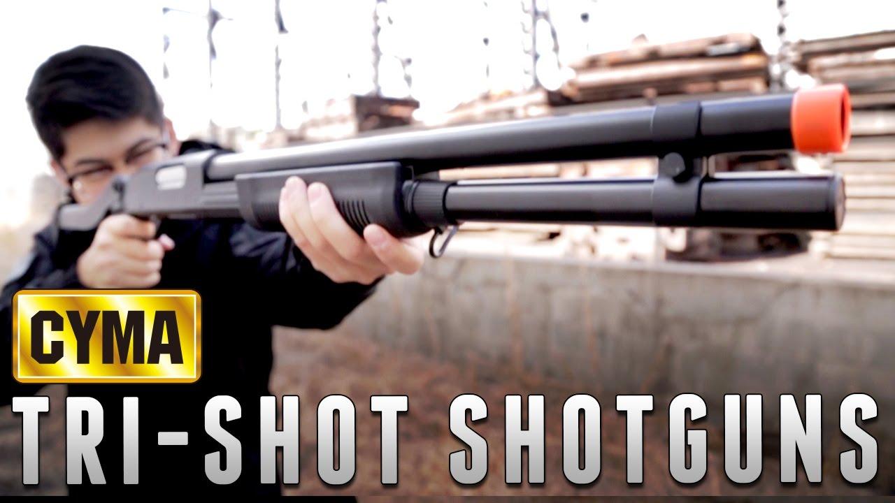 CYMA M870 Shotgun Series [The Gun Corner] Airsoft Evike com