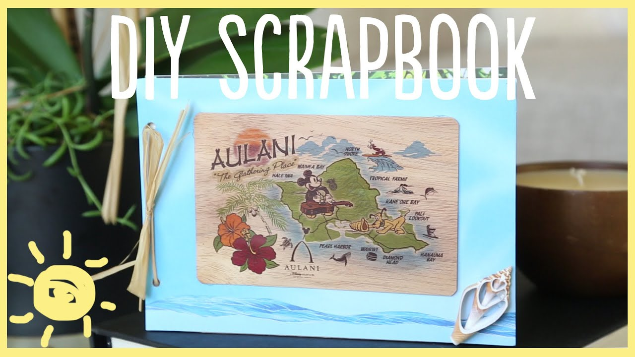Diy vacation scrapbook cute easy youtube solutioingenieria Gallery