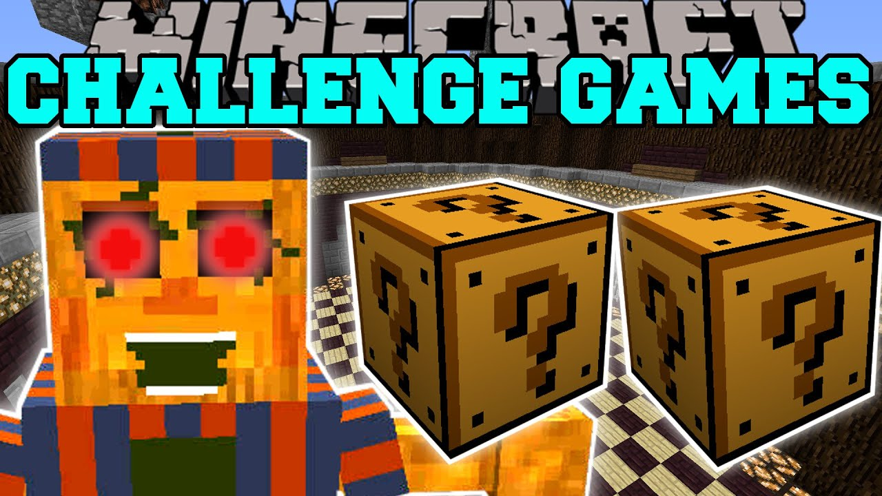 ... BOY CHALLENGE GAMES - Lucky Block Mod - Modded Mini-Game - YouTube