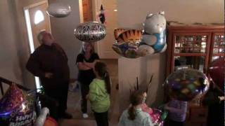 Magic FLOATING Balloons At My Party! Fantastic Floatables AWESOME New Space Pets & Super Saucers!!