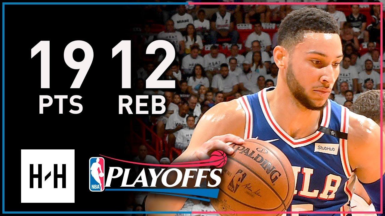 Ben Simmons Full Game 3 Highlights 76ers vs Heat 2018 ...