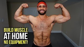 Home Workout to Build Muscle (NO EQUIPMENT)