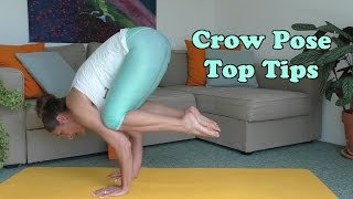 Beginners Yoga: Top Tips for Crow Pose