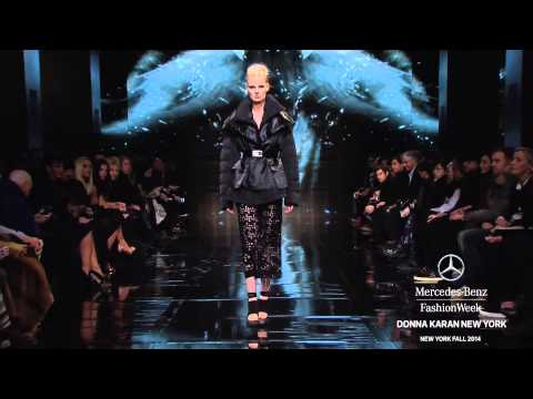 DONNA KARAN NEW YORK: MERCEDES-BENZ FASHION WEEK Fall 2014 COLLECTIONS