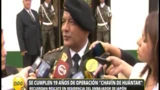 GRAL ASTUDILLO OPINA SOBRE CHAVIN DE HUANTAR