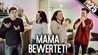 MAMA sieht zum ersten Mal unsere WOHNUNGEN! Welche findet Sie BESSER ?! | Max und Chris