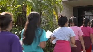 CBS News' David Begnaud on his visit to child detention center