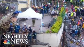 Mexico City Quake: Rescuers Desperate To Find Survivors | NBC Nightly News