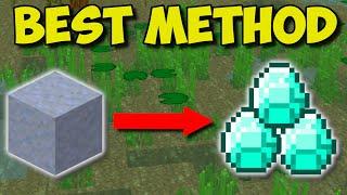 (1.17+) OVERPOWERED Way T๐ Find DIAMONDS In Minecraft!!! - Clay Diamond Trick!