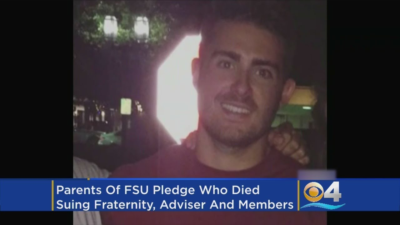 Lawsuit Filed In FSU Fraternity Death