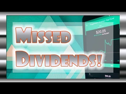 MISSED DIVIDEND CAPTURE and SWING TRADE | Robinhood APP
