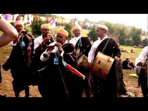 Master Musicians of Joujouka, live at Stone Circle, Glastonbury Festival 2011