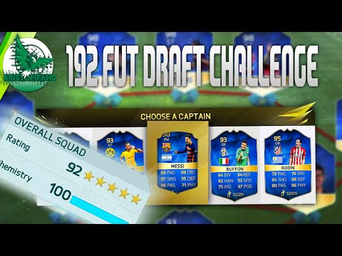 192 FUT DRAFT CHALLENGE I LIVE
