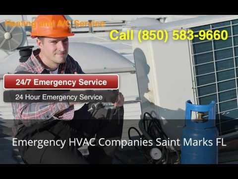Emergency HVAC Companies Saint Marks FL (850) 583-9660