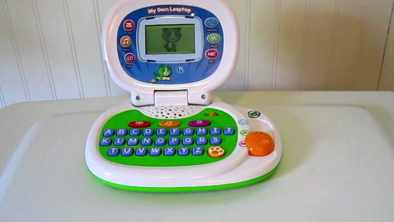 Toy Review: LeapFrog My Own Laptop - YouTube