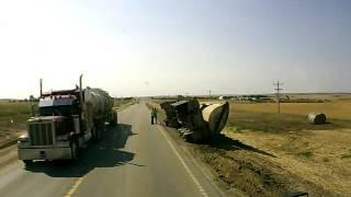 Dash-Cam: Side Dump Rolls