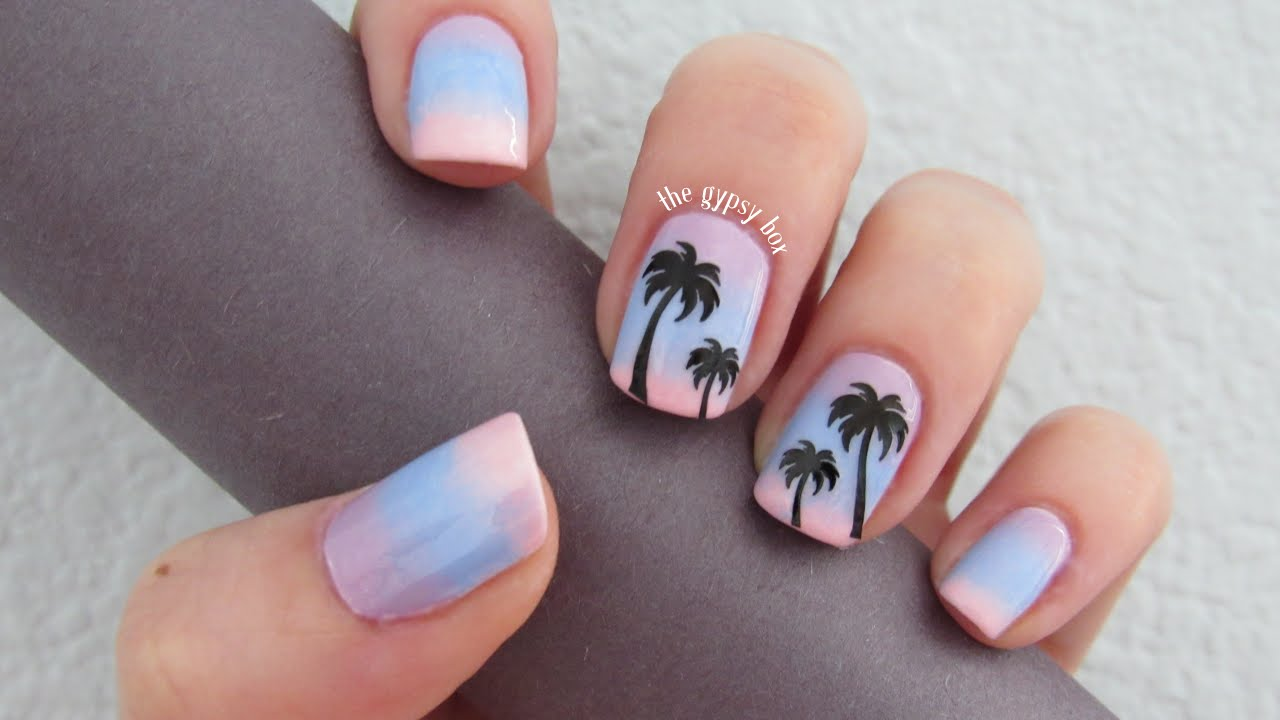 Palm Tree Nail Designs | Graham Reid