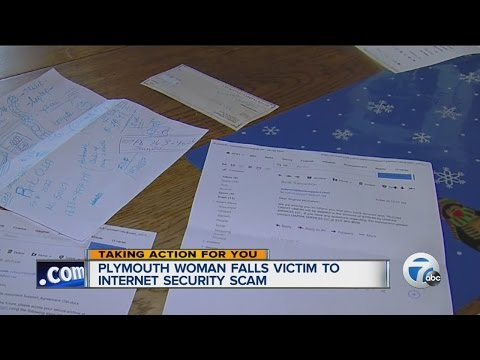 Woman warning others to look out for computer scam that cost her $400