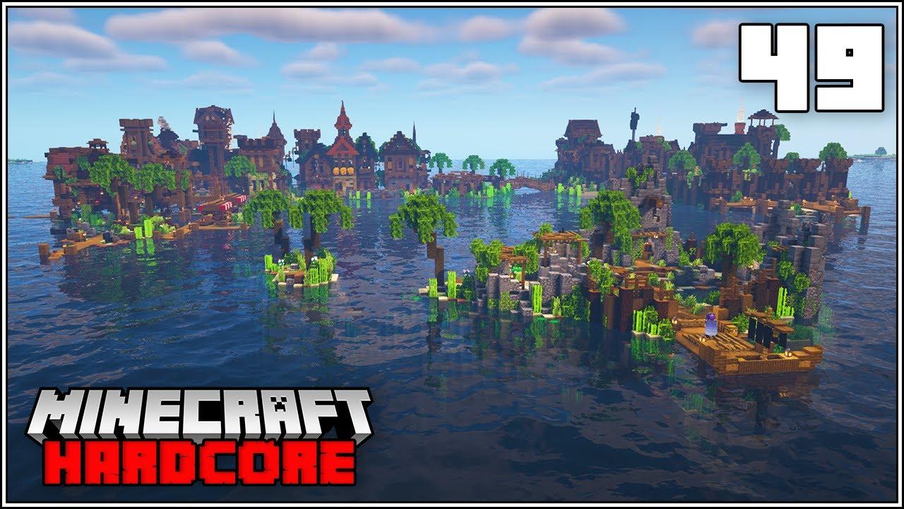 Minecraft Hardcore Let's Play - THE TURTLE SANCTUARY!!! - Episode 49