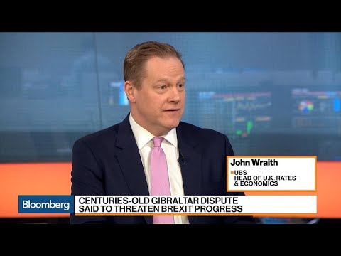 UBS's Wraith Says Gibraltar Shows EU's Brexit Leverage