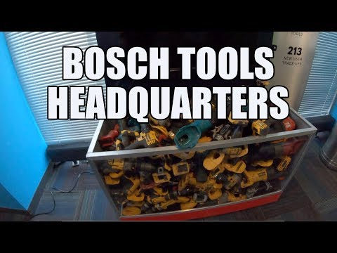Behind The Scenes At Bosch Tools HQ