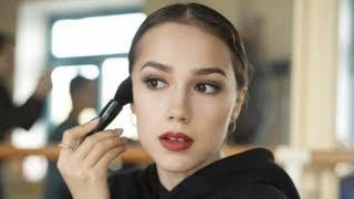 На льду я должна быть красивой Алина Загитова объяснила как ей помогает макияж