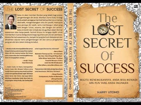 The Lost Secret of Success - Bedah Buku