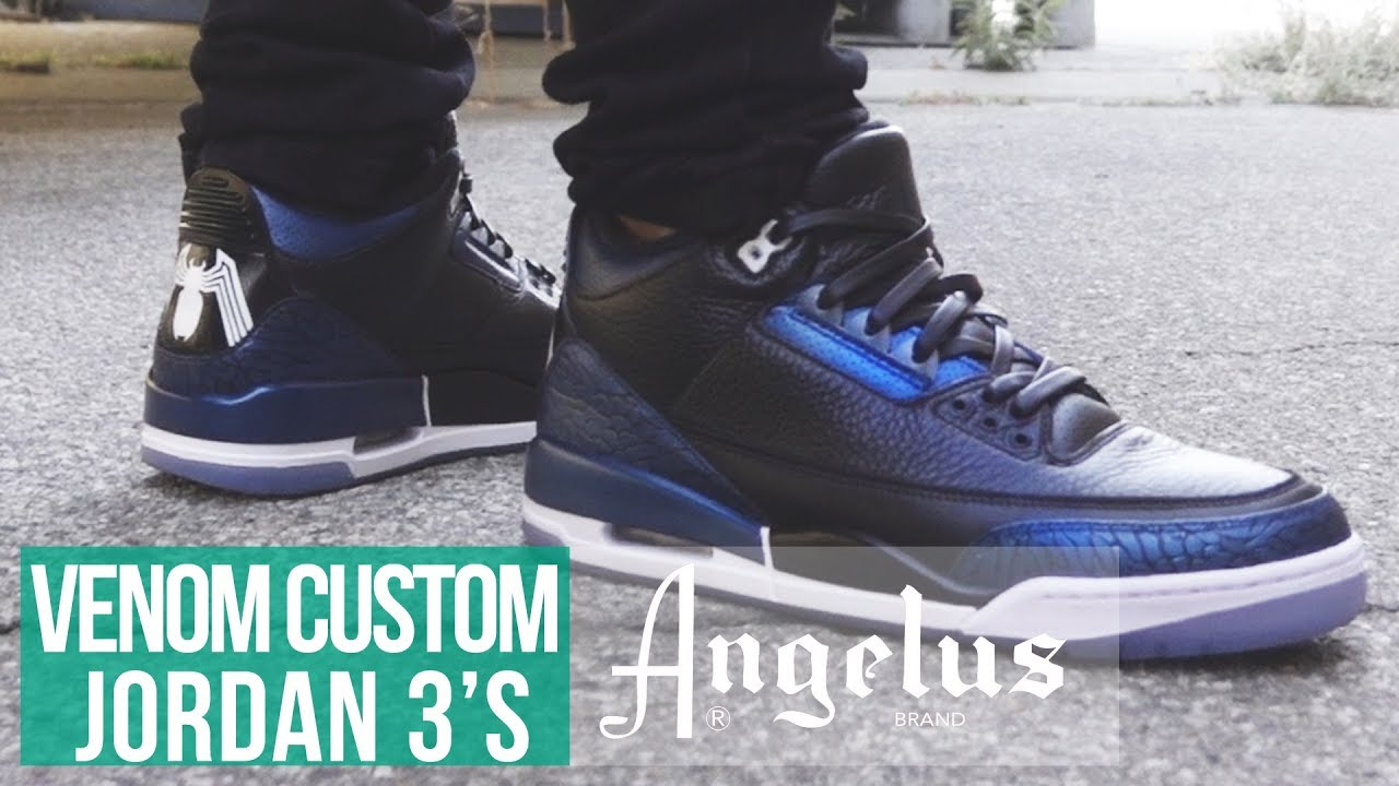 094dab51eacfdd How to Custom Jordan 3 Heel Tabs
