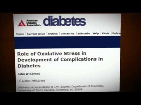 Diabetes - Protandim Scientific Review