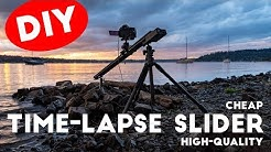 DIY TimeLapse Slider Dolly: Cheap but High-Quality (Second Version)