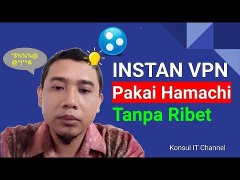 Tutorial Membuat Instan VPN (Hamachi) Client Server Tanpa Setting , Tanpa Ribet Dan Tanpa IP Publik