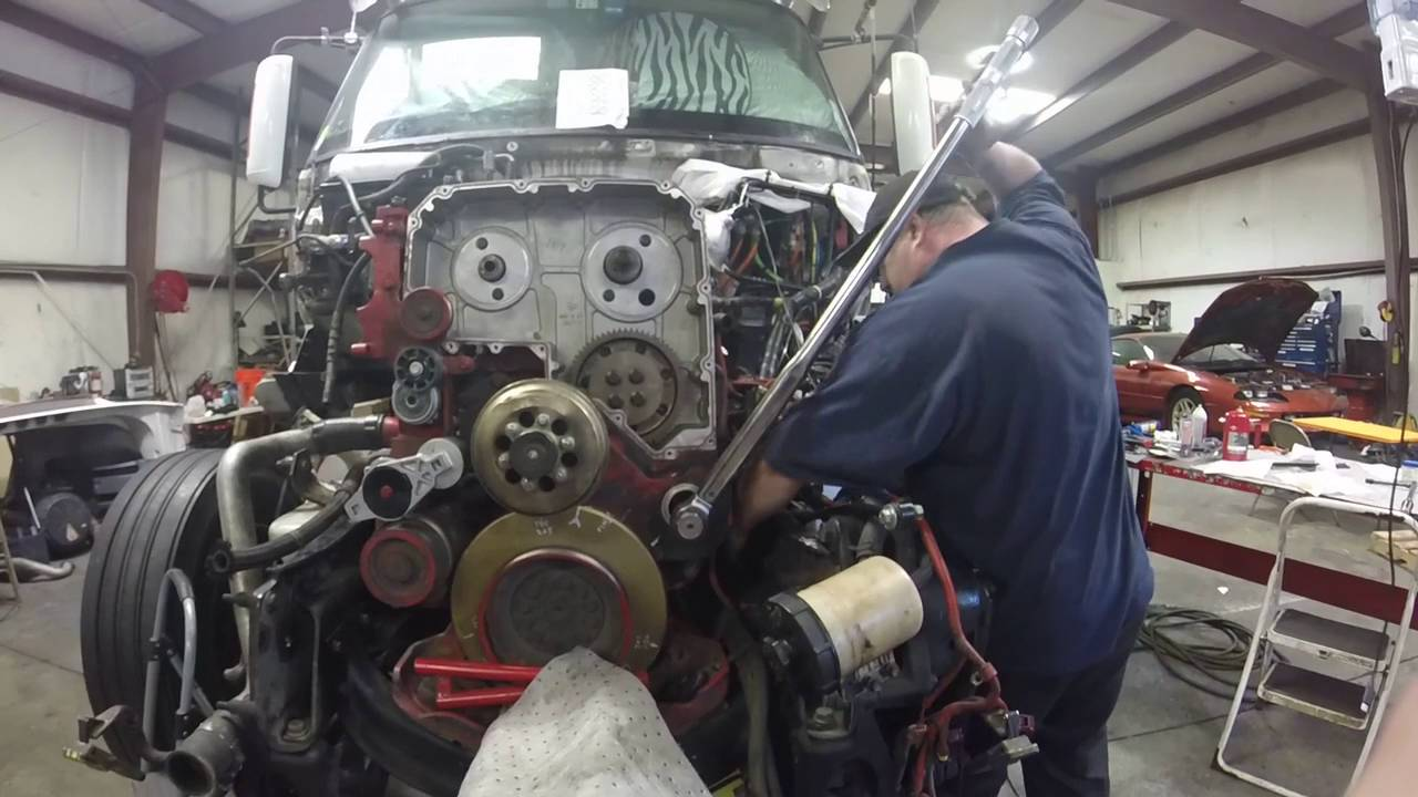 V Cummins Engine Build