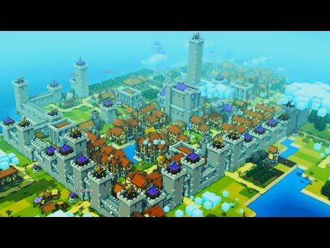 Invincible Castle vs MASSIVE Viking Invasion! (Kingdoms and Castles Beta Gameplay)