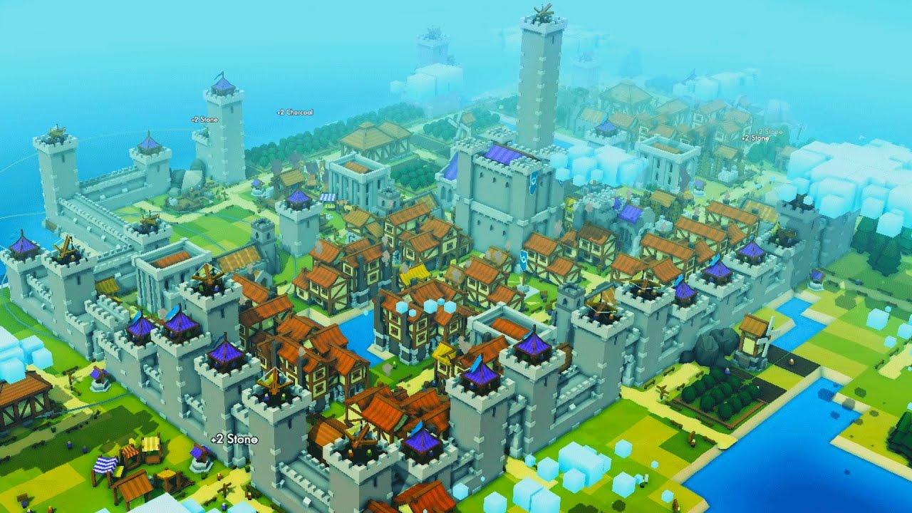kingdoms and castles ciudad