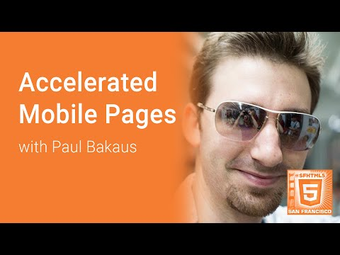 AMP: Accelerated Mobile Pages with Paul Bakaus